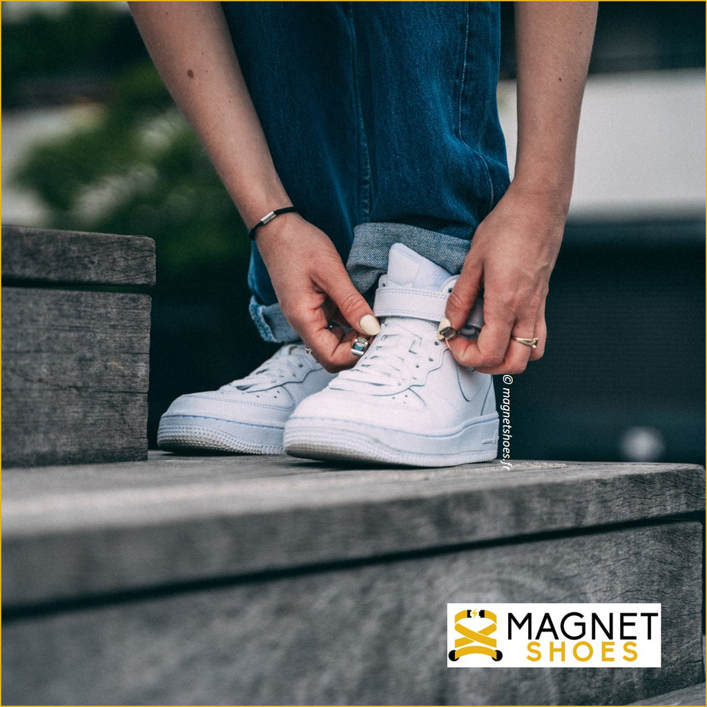 lacet magnet shoes brillant chaussure