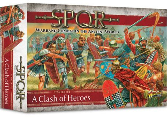 SPQR: A Clash of Heroes Starter Set (Inglés)
