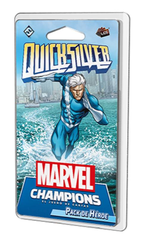 Quicksilver - Pack de Héroe