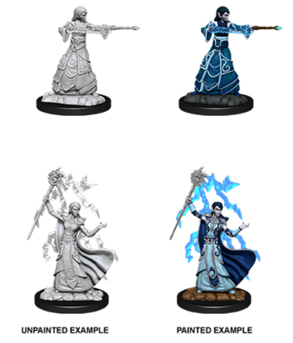 D&D Nolzur's Marvelous Miniatures - Female Elf Wizard
