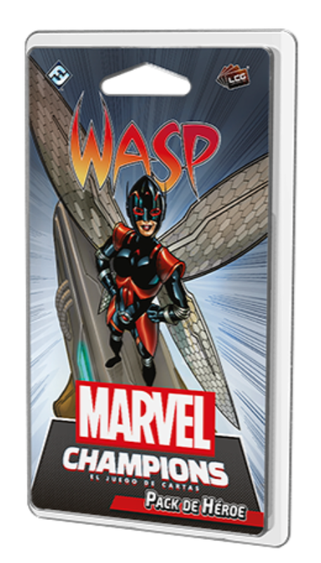 Wasp - Pack de Héroe