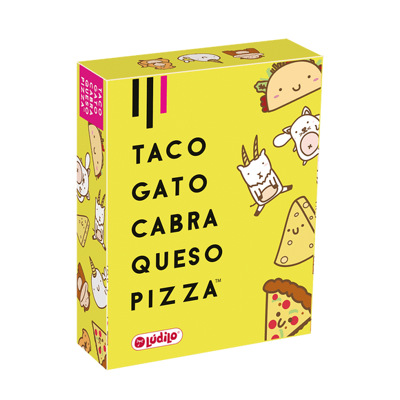 Taco, Gato, Cabra, Queso, Pizza