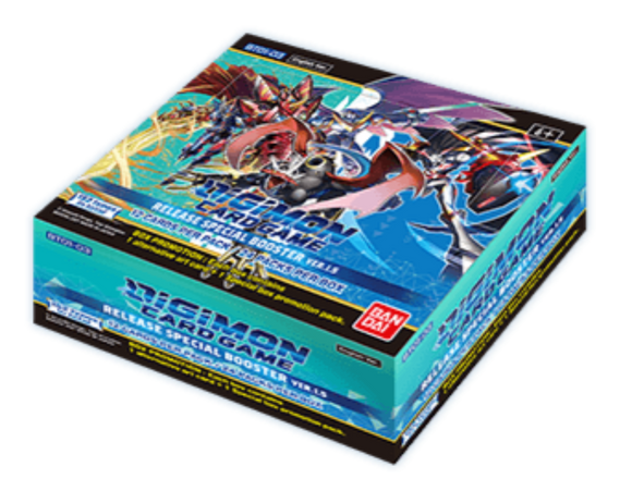 [PREPEDIDO] Digimon Card Game - Release Special Booster Display Ver.1.5 BT01-03 (24 Packs)- Inglés