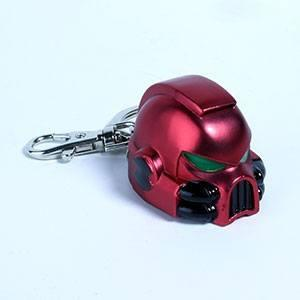 Llavero metálico Space Marine MKVII Helmet Blood Angels