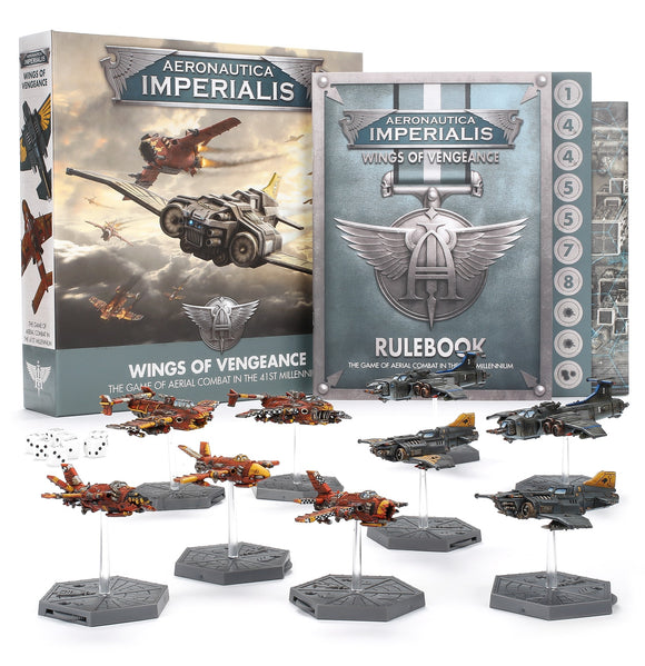 AERONAUTICA IMPERIALIS: WINGS OF VENGEANCE ENGLISH