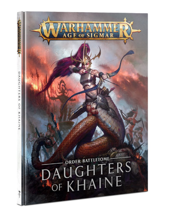 Battletome: Daughters of Khaine (Inglés)