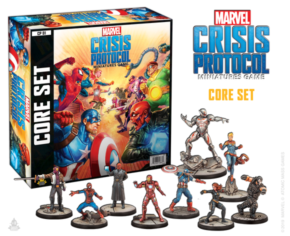 Marvel Crisis Protocol: Core Set - ENGLISH