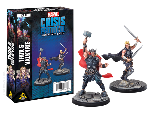 Marvel Crisis Protocol: Thor and Valkyrie - ENGLISH