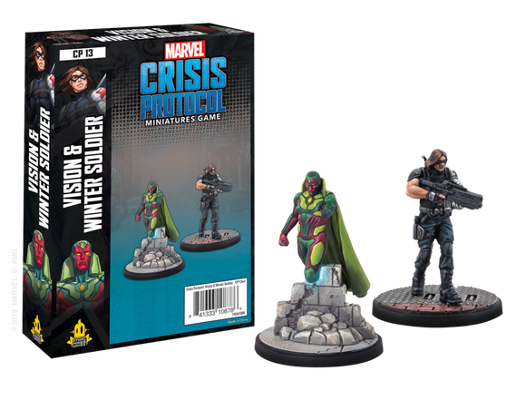 Marvel Crisis Protocol: Vision and Winter Soldier - ENGLISH