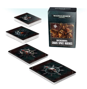 Datacards: Chaos Space Marines (Inglés)
