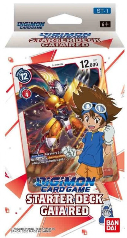Digimon TCG - Starter Deck Gaia Red ST-1