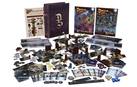 Dungeon Saga: the dwarf king's quest (inglés)