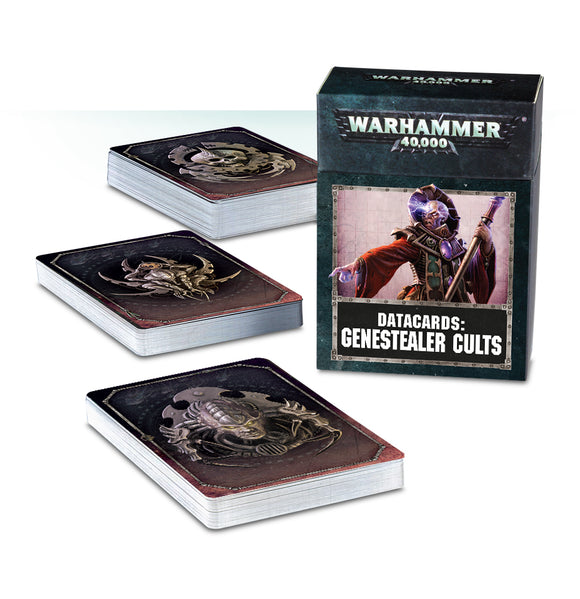 DATACARDS: GENESTEALER CULTS (ENGLISH)