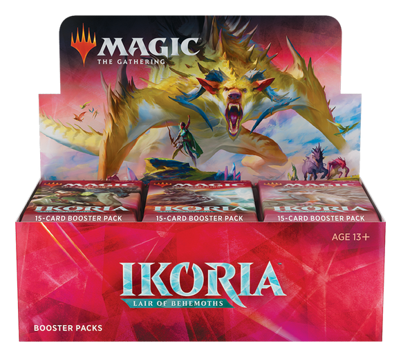 MTG - Ikoria: Lair of Behemoths Booster Display (36 Packs) - SPANISH