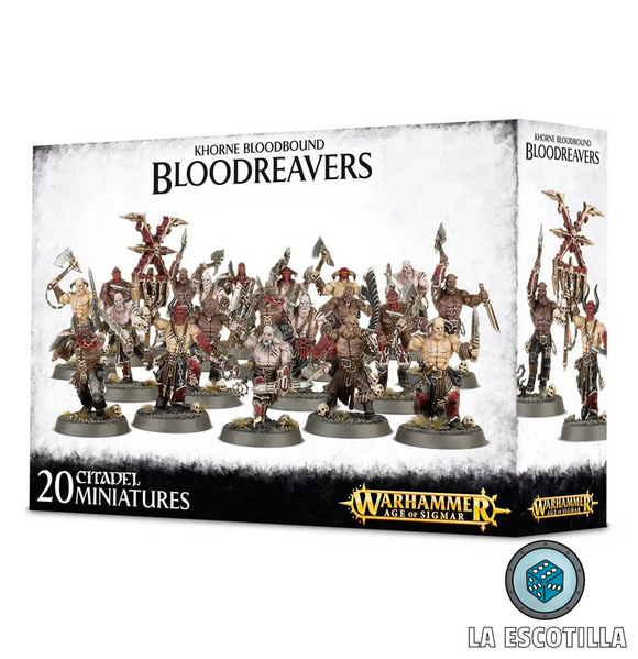 KHORNE BLOODBOUND BLOOD REAVERS