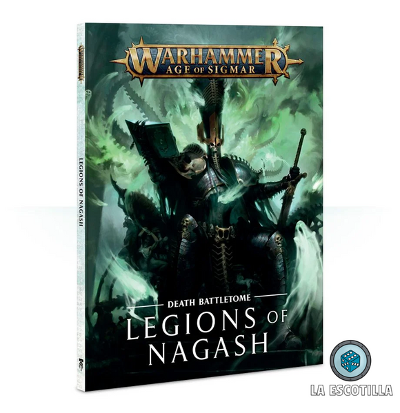 BATTLETOME: LEGIONS OF NAGASH (ENGLISH)