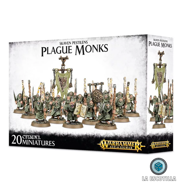 SKAVEN PESTILENS PLAGUE MONKS
