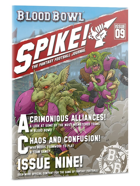 Spike! Journal 9