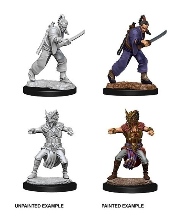 D&D Nolzur's Marvelous Miniatures - Male Human Monk