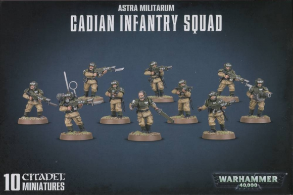 Cadian Infantry Squad / Cadian Shock Troops