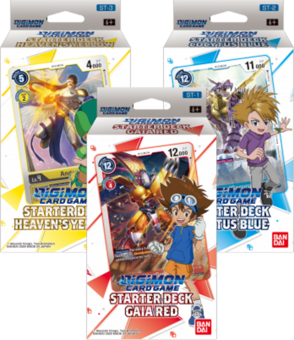 [PREPEDIDO] Digimon TCG - Bundle 3 starter decks