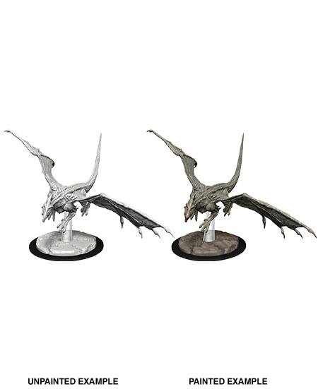 D&D Nolzur's Marvelous Miniatures - Young White Dragon