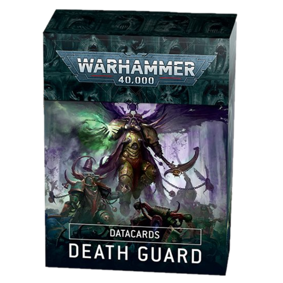[PREPEDIDO] Tarjetas de datos: Death Guard / Datacards: Death Guard