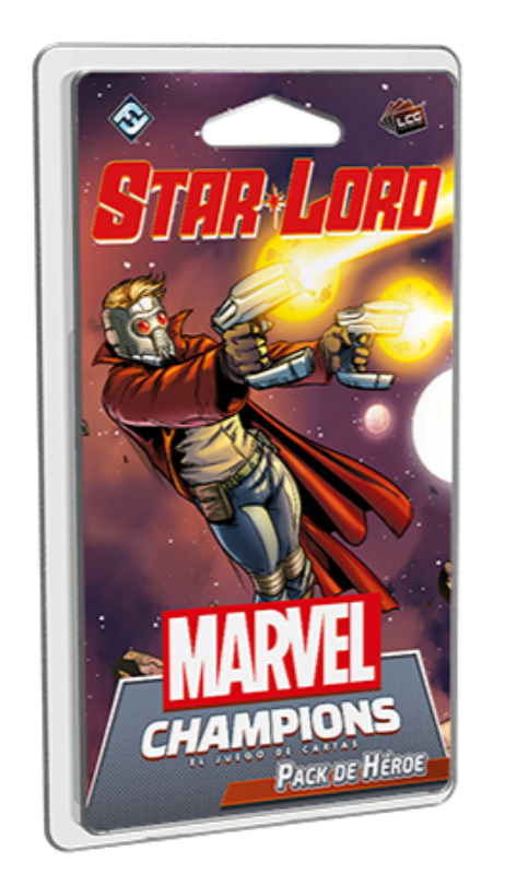 [PREPEDIDO] Star-Lord - Pack de Héroe