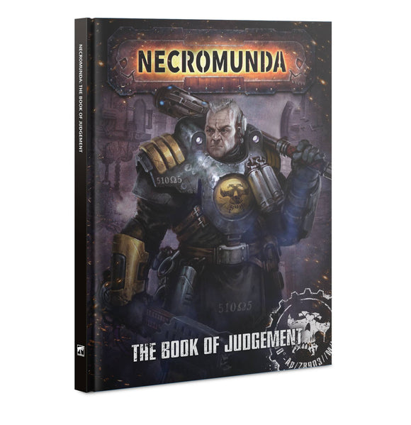 NECROMUNDA: THE BOOK OF JUDGEMENT (ENGLISH)