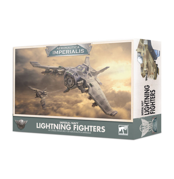 AERONAUTICA IMPERIALIS: IMPERIAL NAVY LIGHTNING FIGHTERS