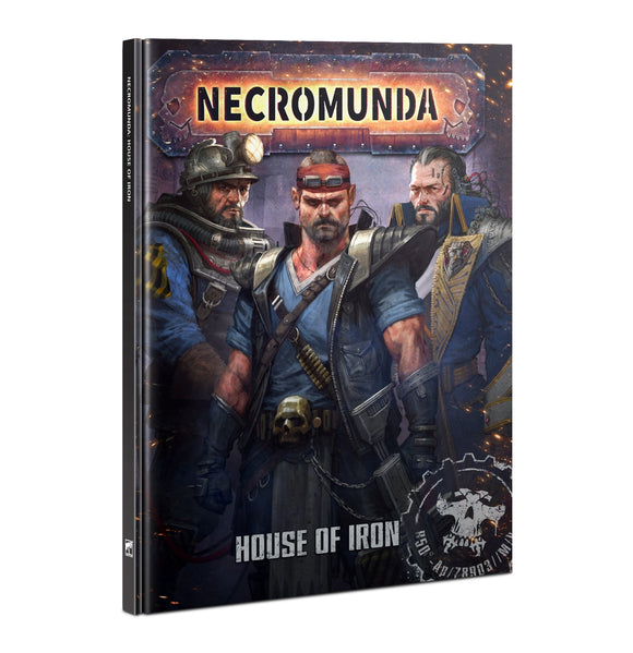 [PREPEDIDO] Necromunda: House of Iron (INGLÉS)