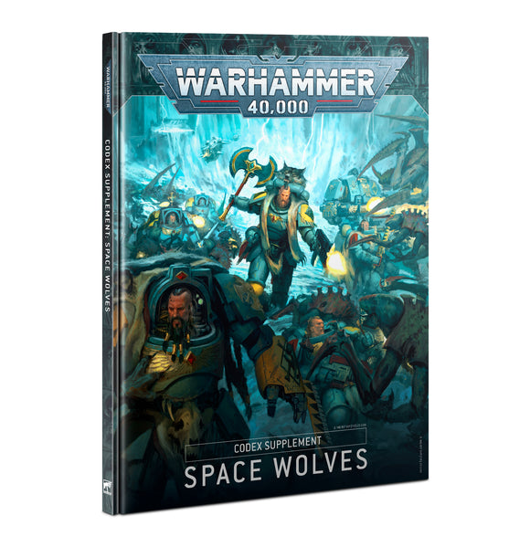 Codex Supplement: Space Wolves (Inglés)