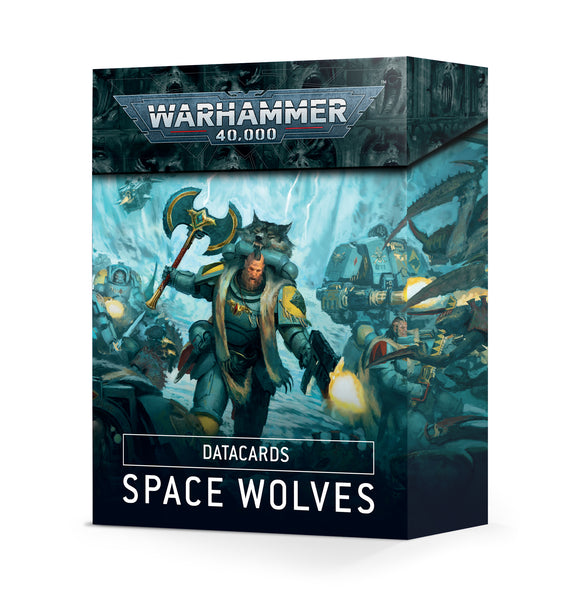 Tarjetas de datos: Space Wolves / Datacards: Space Wolves