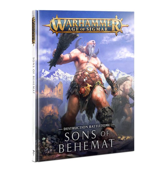 Battletome: Sons of Behemat (Inglés)