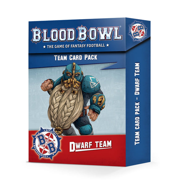 Dwarf Team Card Pack (Inglés)