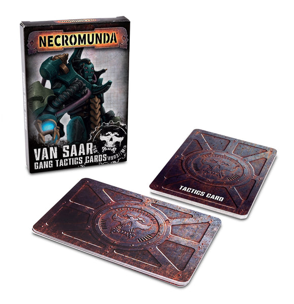 Necromunda: Van Saar Gang Tactics Cards (Second Edition) (Inglés)