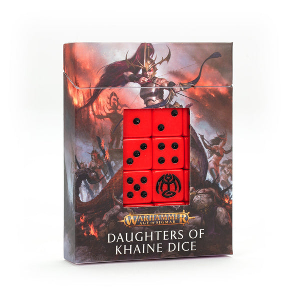 Juego de dados Daughters of Khaine