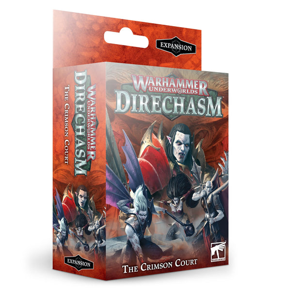 Warhammer Underworlds: Direchasm – The Crimson Court (Inglés)