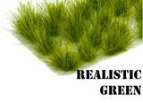 Grass Tuft 12mm - Realistic Green