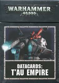 DATACARDS : T'AU EMPIRE (ENGLISH)
