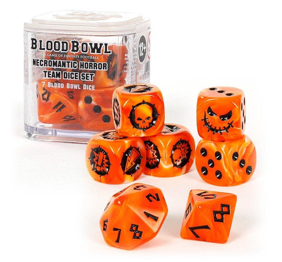 Blood Bowl: Set de dados Necromantic Horror