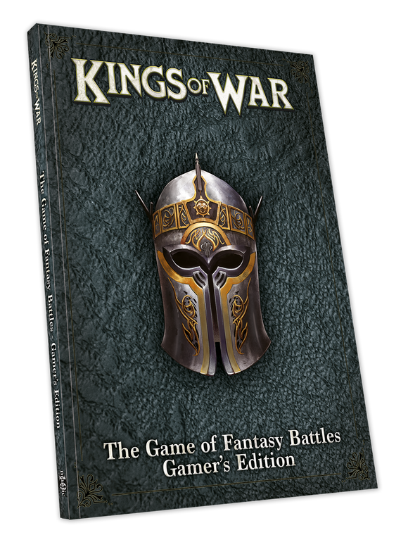 Kings of War 3rd Edition Gamer's Rulebook (inglés)