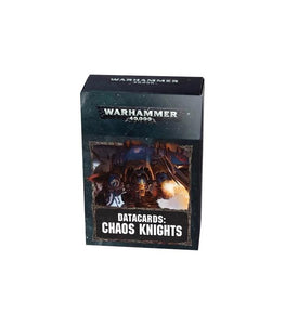 Datacards: Chaos Knights (Inglés)
