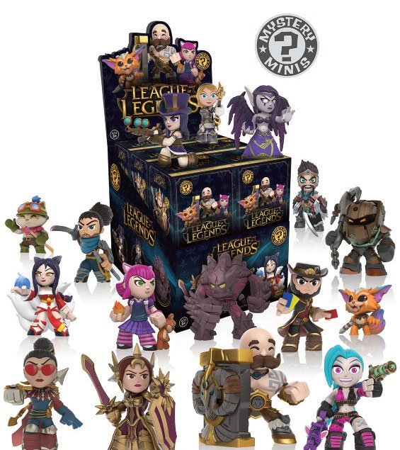 Minifiguras League of Legends