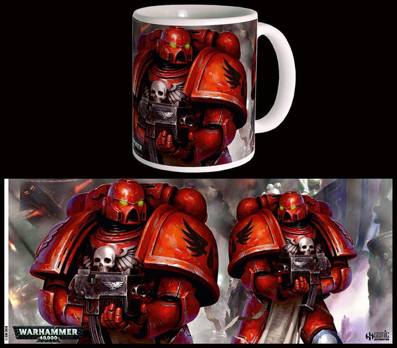 Warhammer 40K Taza Blood Angels Space Marines
