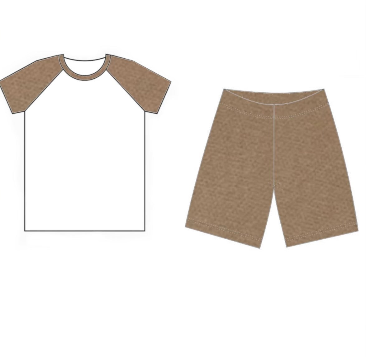 T-shirts and Shorts lounge set
