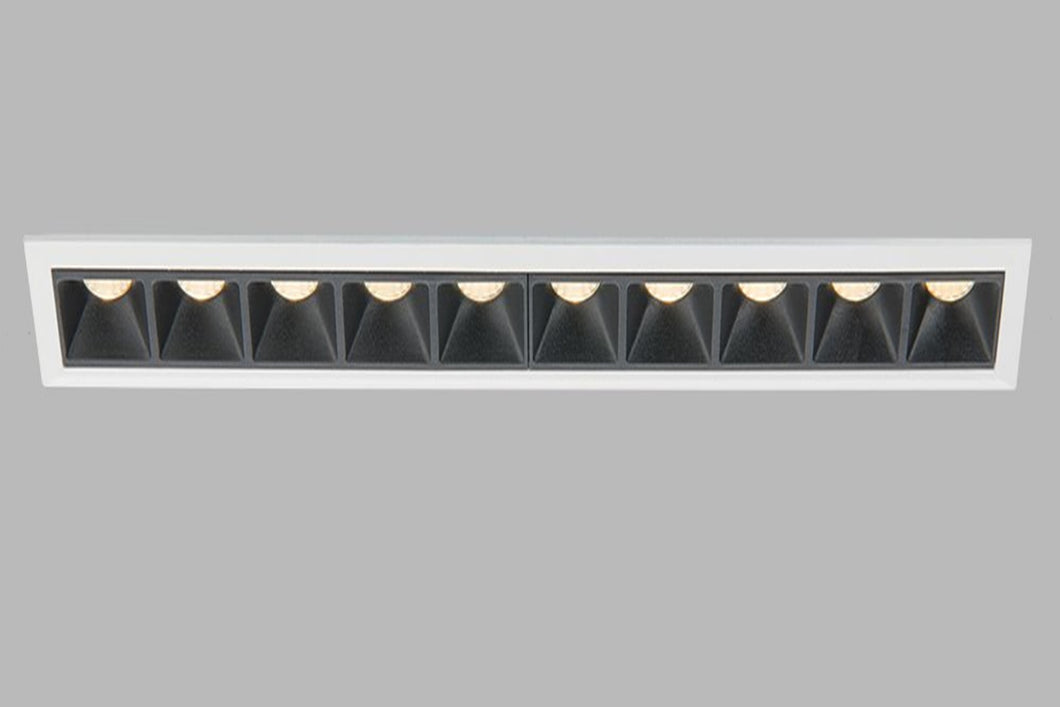 Recessed IP20 LED luminaire Linear 10