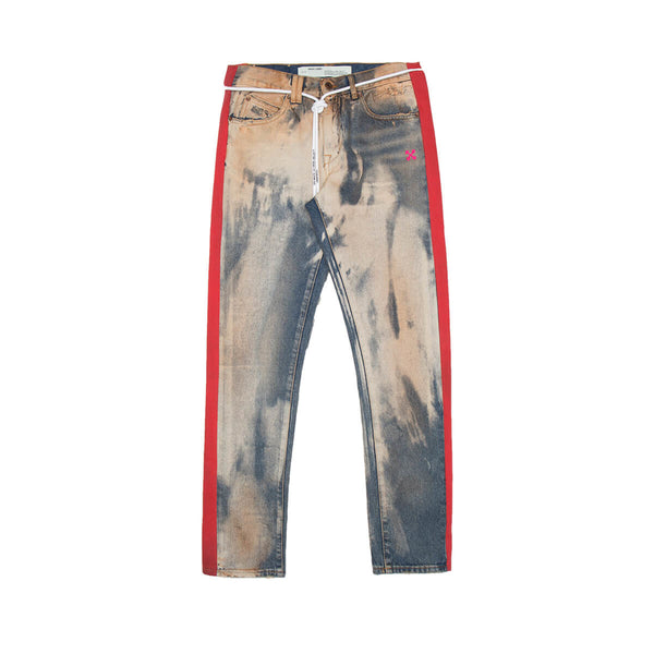 OFF-WHITE Side Panel Slim Denim
