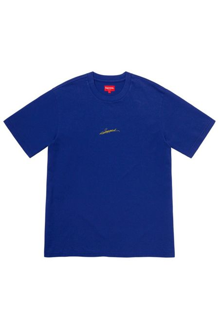 Supreme Signature S/S Top Royal