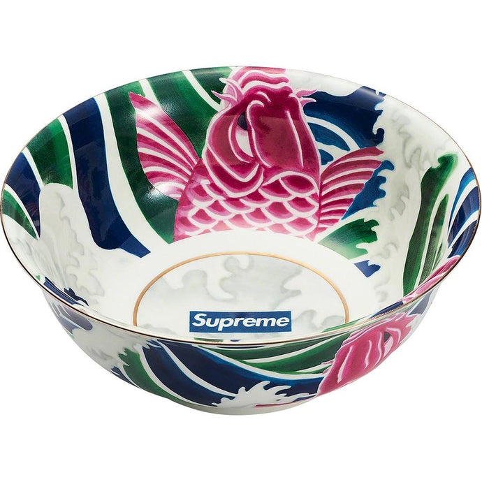 Supreme Waves Ceramic Bowl Multicolor